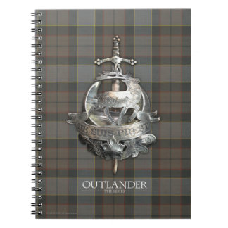 Outlander | The Fraser Brooch Spiral Notebook