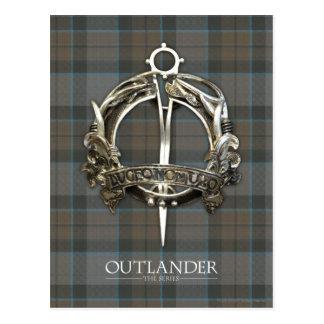 Outlander | The MacKenzie Clan Brooch Postcard