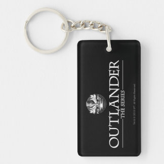 Outlander | The Series Logo White V1 Key Ring