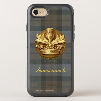Outlander | The Thistle Of Scotland Emblem OtterBox Symmetry iPhone 8/7 Case