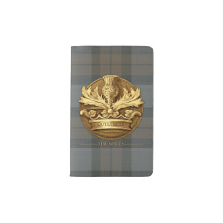 Outlander | The Thistle Of Scotland Emblem Pocket Moleskine Notebook