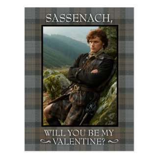 Outlander | Valentine's Day Postcard