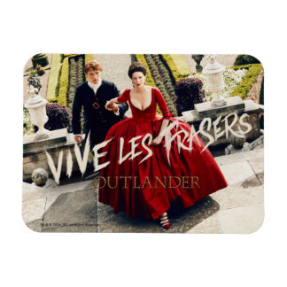 Outlander | Vive Les Frasers Rectangular Photo Magnet
