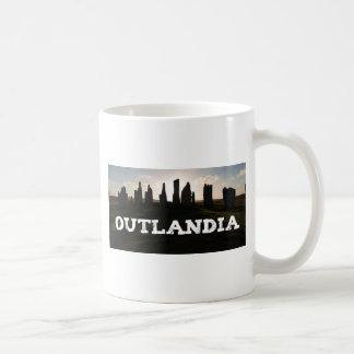 Outlandia Standing Stones Basic White Mug