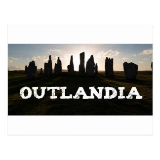 Outlandia Standing Stones Postcard