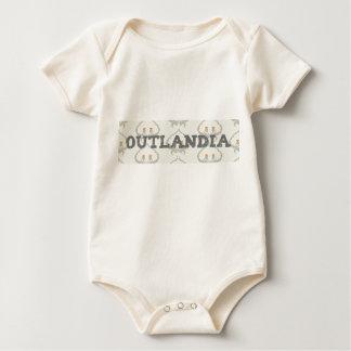 Outlandia Thistle Background Baby Bodysuit