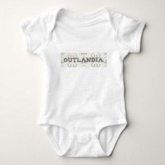 Outlandia Thistle Background Tee Shirt