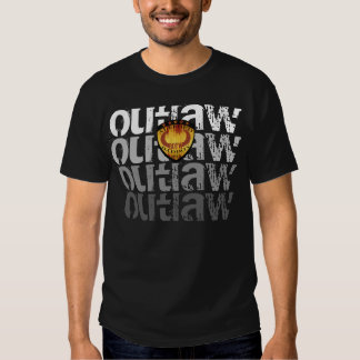 OUTLAW ALLEGED BADBOY by BULL OF THE WOODS Shirts