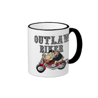 Outlaw Biker Mugs