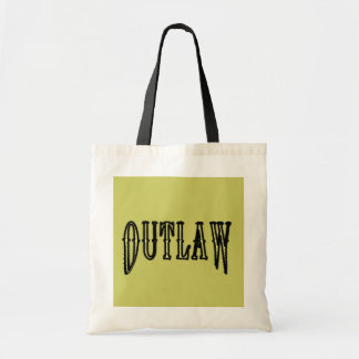 Outlaw Budget Tote Bag