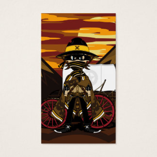 Outlaw Cowboy Bookmark