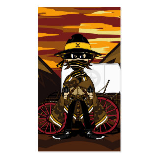 Outlaw Cowboy Bookmark Pack Of Standard Business Cards