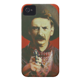 Outlaw Cowboy iPhone 4 Case-Mate Barely There