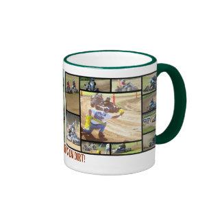 Outlaw Karts on Dirt Ringer Mug