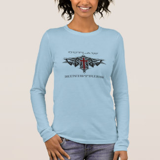 Outlaw Ministries- Long Sleeve (Woman's) Long Sleeve T-Shirt