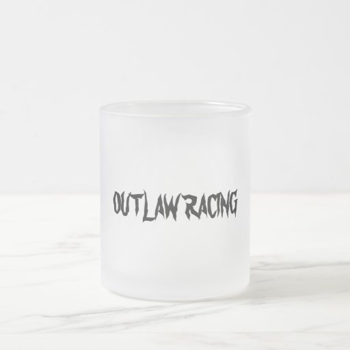 OUTLAW RACING Frosted  Mug