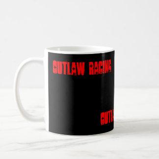 OUTLAW RACING, Outlaw Racing, OUTLAW RACING Basic White Mug