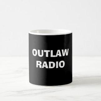 OUTLAW RADIO BASIC WHITE MUG