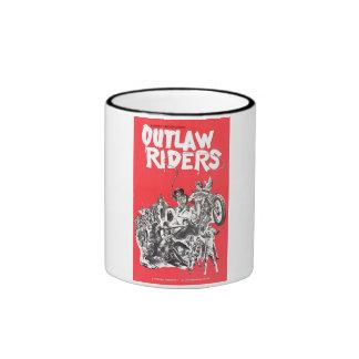Outlaw Riders Ringer Mug