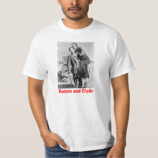 Outlaws Bonnie and Clyde T-Shirt