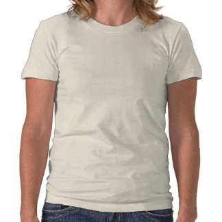 Outlett Ladies Tribal Swirl Organic Fitted Tee