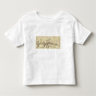 Outline Map of Duluth and Suburbs Toddler T-Shirt