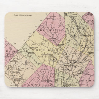 Outline plan of Caledonia Company in Vermont Mouse Pad