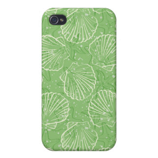 Outline seashells cases for iPhone 4