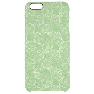 Outline seashells clear iPhone 6 plus case