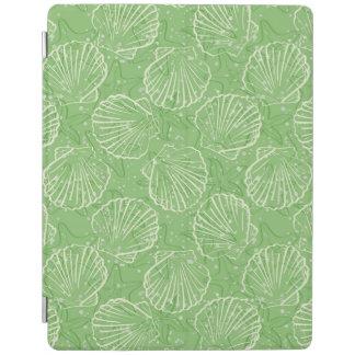 Outline seashells iPad cover