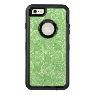 Outline seashells OtterBox defender iPhone case