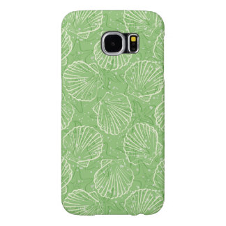 Outline seashells samsung galaxy s6 cases