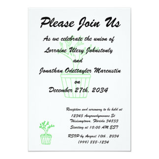 outline tree in pot green.png 13 cm x 18 cm invitation card