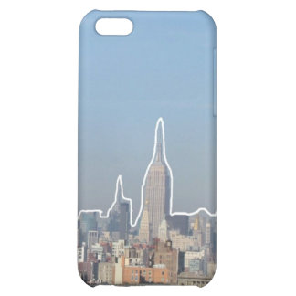 Outlined Buildings iPhone 5C Cases