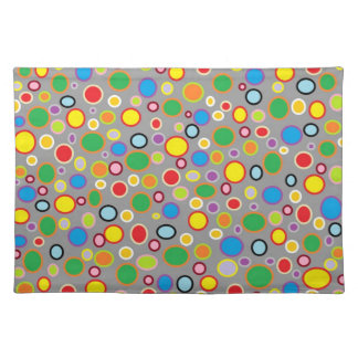 Outlined Polka Dots Placemat