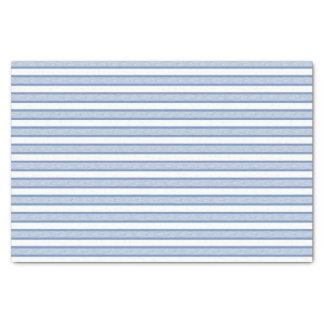 Outlined Stripes Blue/Grey Tissue Paper