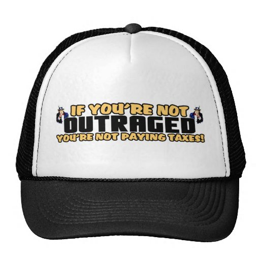 Outraged! Mesh Hats