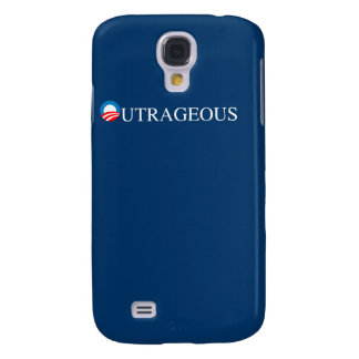 OUTRAGEOUS GALAXY S4 COVER