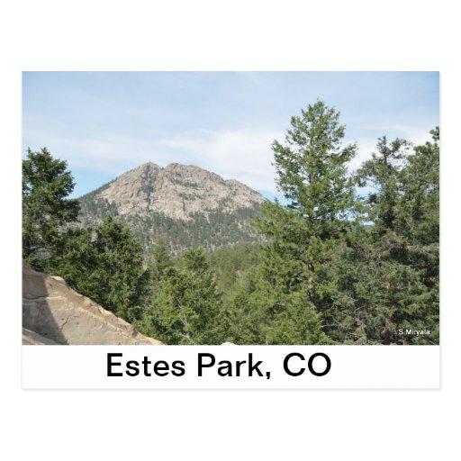 Outside Estes Park Post Cards