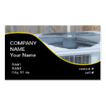 outside heat pump business cards