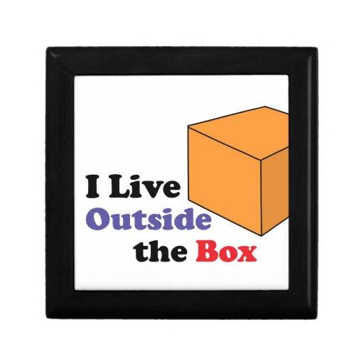 Outside the Box Trinket Box