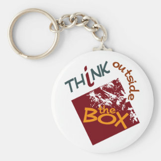Outside The Box keychain