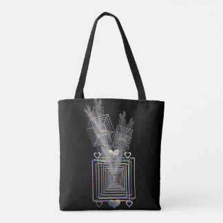 Outside The Square Tote Bag