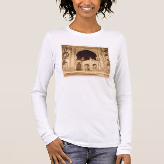 Outside the Taj Mahal, probably illustrated in 'Ph Long Sleeve T-Shirt