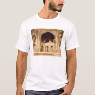 Outside the Taj Mahal, probably illustrated in 'Ph T-Shirt