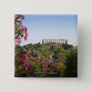 Outside The Valley Of The Temples 15 Cm Square Badge