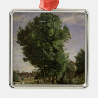 Outskirts of a village near Beauvais, c.1850 Christmas Ornament