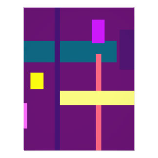 Outstanding Design Patriarch Purple 21.5 Cm X 28 Cm Flyer
