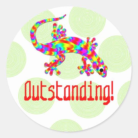 Outstanding Salamander School Stickers