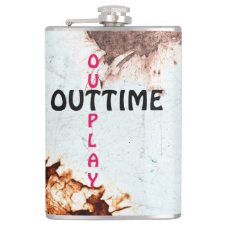 outtime - outplay used look hip flask